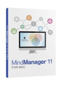 здесь вы можете купить лицензионный Mindjet MindManager Upgrade for MAC Version 11 (Single User)(from any previous Mac version)